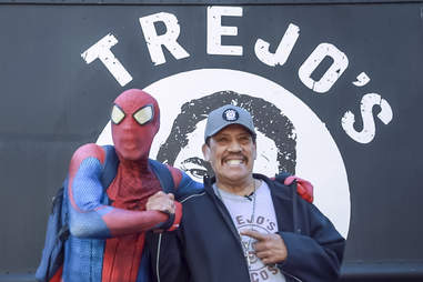spiderman + danny trejo