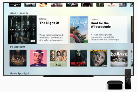 apple tv app courtesy of apple