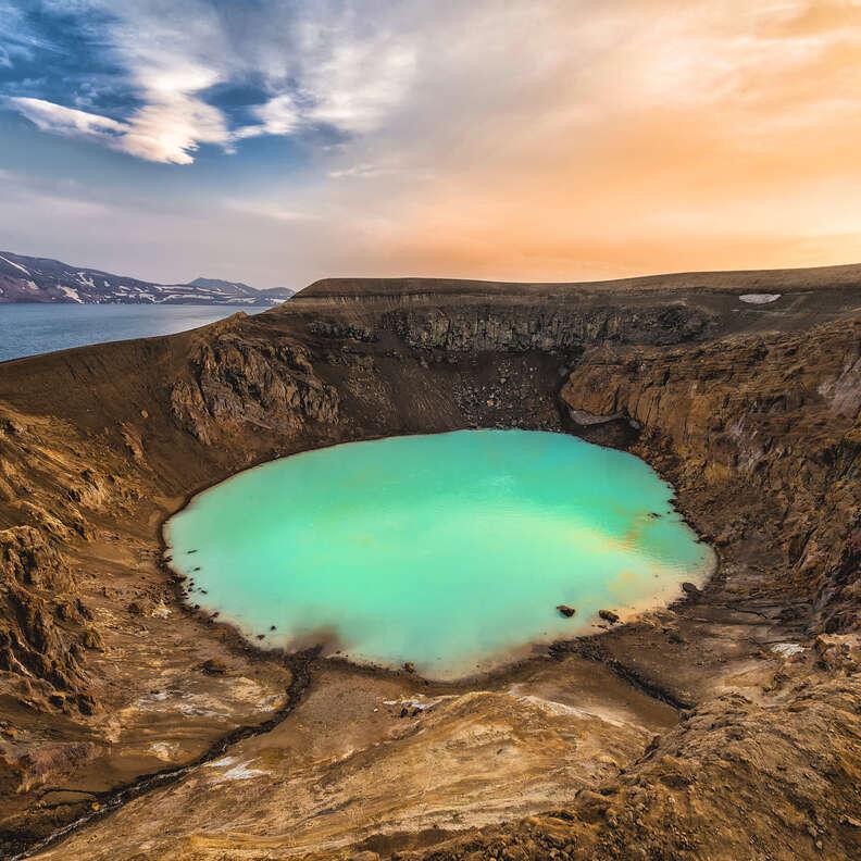 Víti crater in Askja