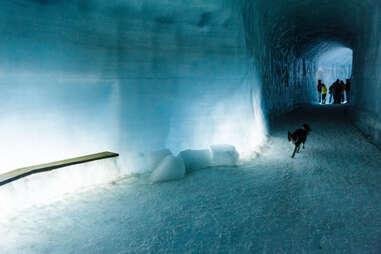 Ice Cave in Langjökull