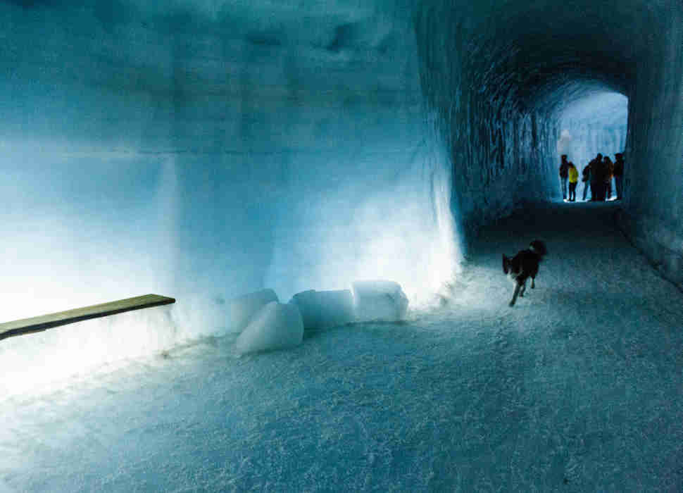 Ice Cave in Langjökull