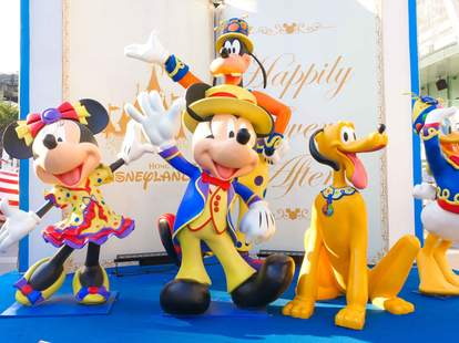 Disney World mascots