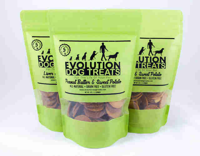 Evolution Dog Treats