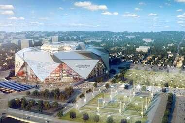 Mercedes Benz Stadium Atlanta