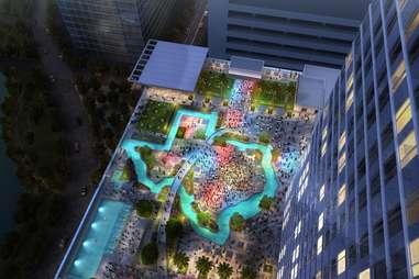 Marriott Marquis Pool, Houston