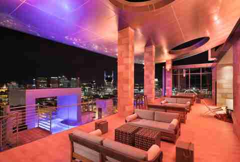 L27 Nashville rooftop bar