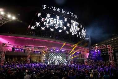 Las Vegas T Mobile Arena