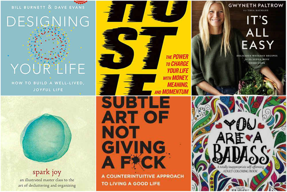 Bestselling Self Help Books Of 2016 Why They All Suck