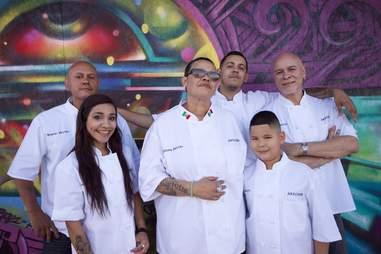 salcido and her staff