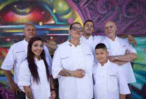 salcido and her staff