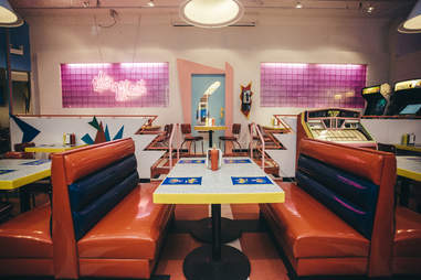 Saved by the bell cafe