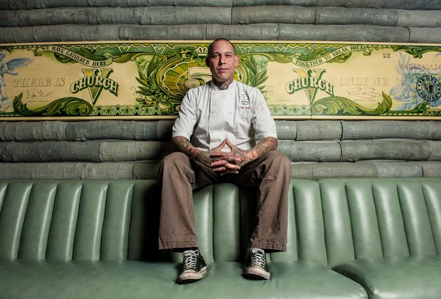 Meet Thrillist Charlotte's Chef of the Year: Jamie Lynch of 5Church