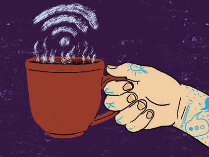 Wi-Fi in Coffee Shops