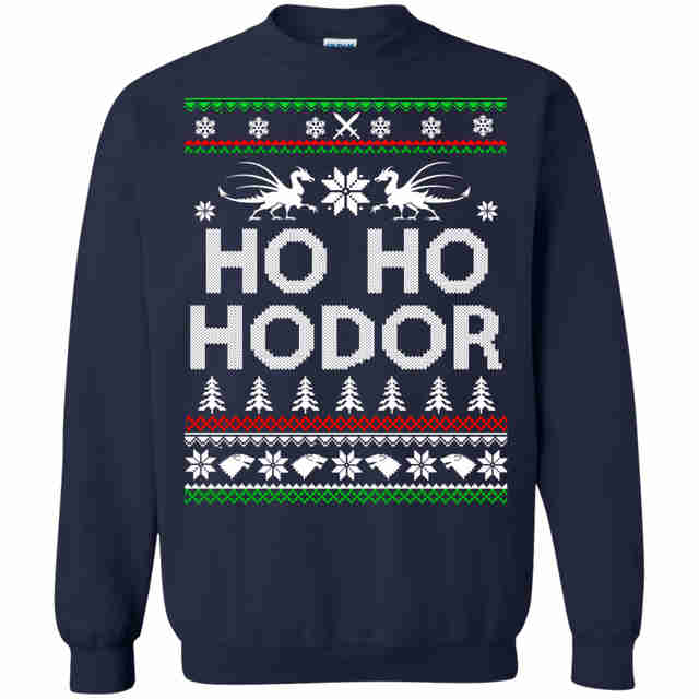 game of thrones ugly christmas sweater