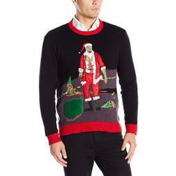 walking dead ugly christmas sweater
