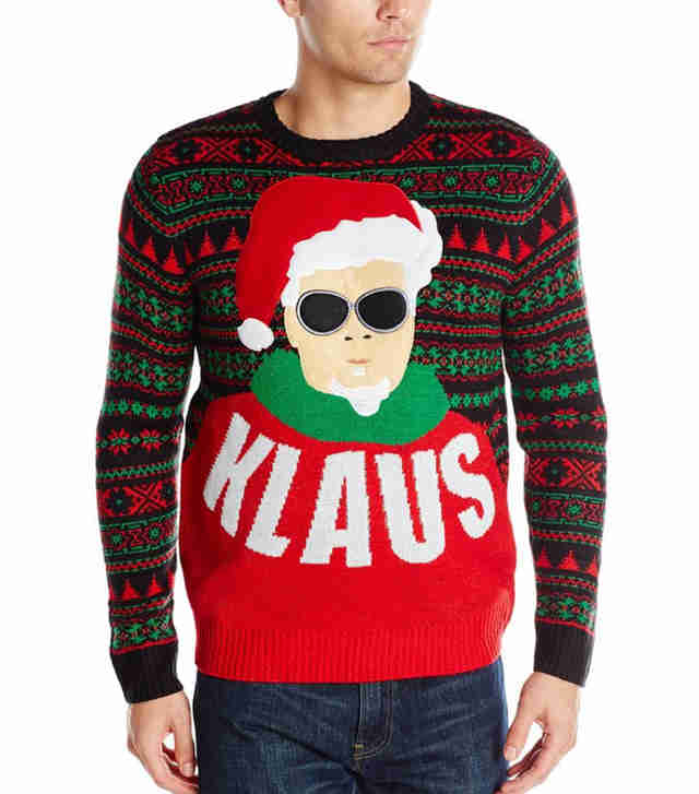 zoolander ugly christmas sweater