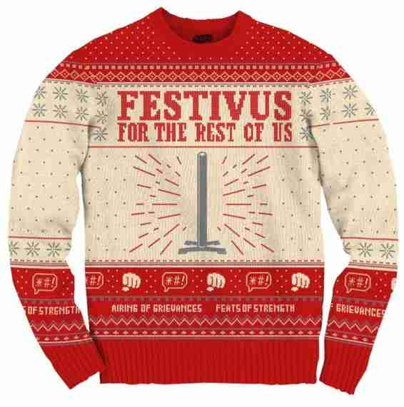 festivus ugly christmas sweater