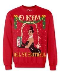kim kardashian ugly christmas sweater