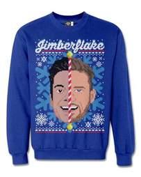 justin timberlake jimmy fallon ugly christmas sweater