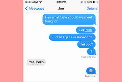 Iphone group text etiquette for dating