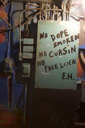 Sign Earnestine and Hazel's
