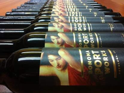 Sonoma Portworks Petaluma wine