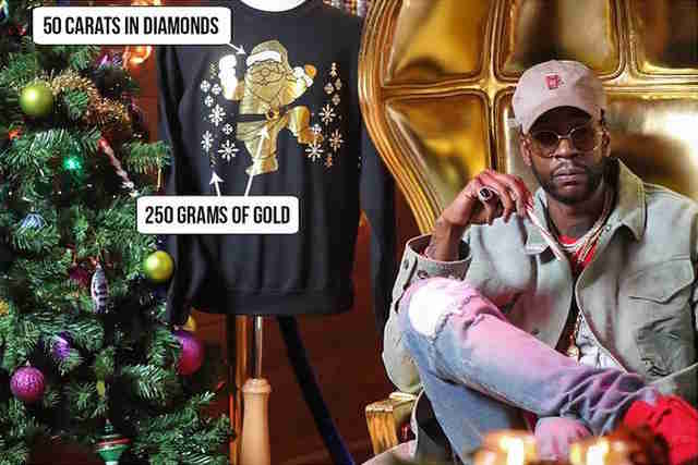 2 chainz ugly christmas sweater
