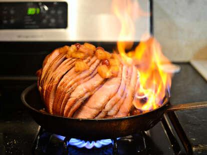 Flaming Fireball Ham