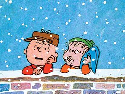 a charlie brown christmas linus and charlie brown