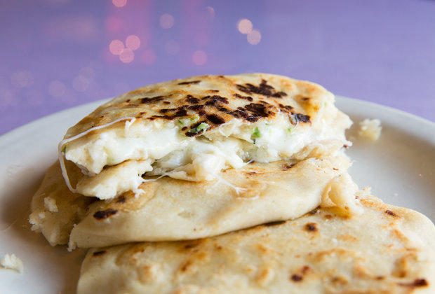 The Best Thing We Ate for Under $10 This Week: $2.50 Pupusas From Bahia