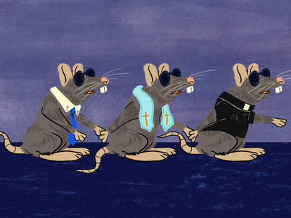 nursery rhymes analyzed three blind mice