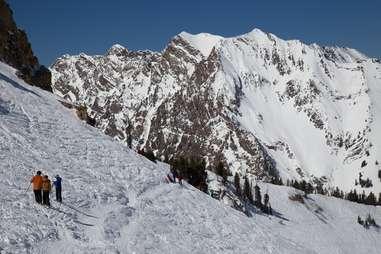 Little Cottonwood Canyon Skiing