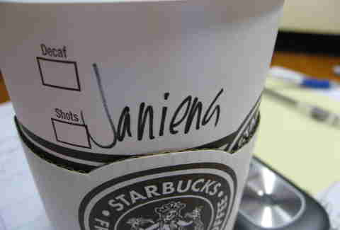 6b4465e538f Why Starbucks Cups Always Have Wrong or Misspelled Names - Thrillist