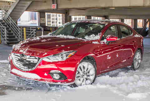 Mazda3 in Cold Weather