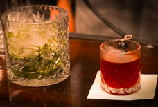 This Smoked Manhattan Is a Billowing Riff on NYC's Classic Whiskey Cocktail