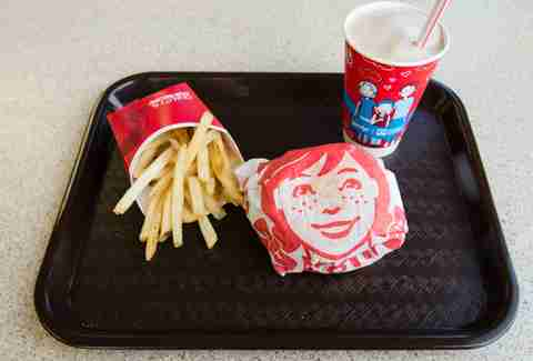 Wendy's meal