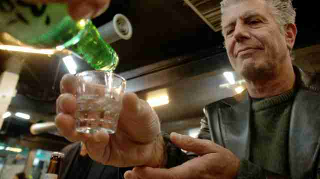 Anthony Bourdain Shots