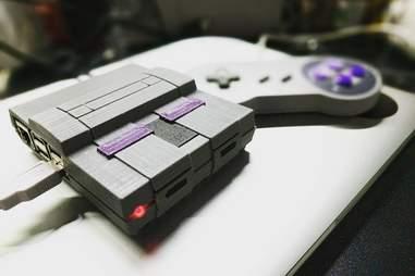 Super Nintendo Raspberry Pi Emulator Build