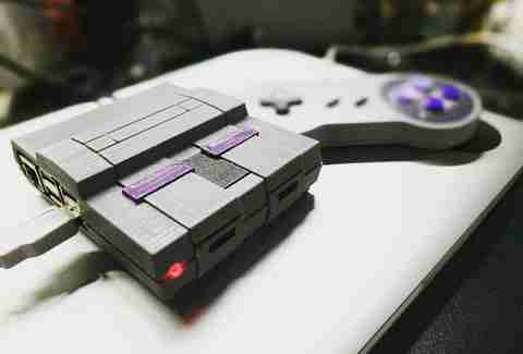 Super Nintendo Raspberry Pi Emulator Build