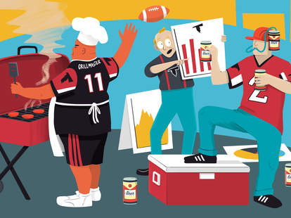 falcons tailgaters