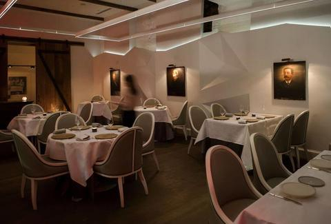 Metier Washington DC restaurant interior