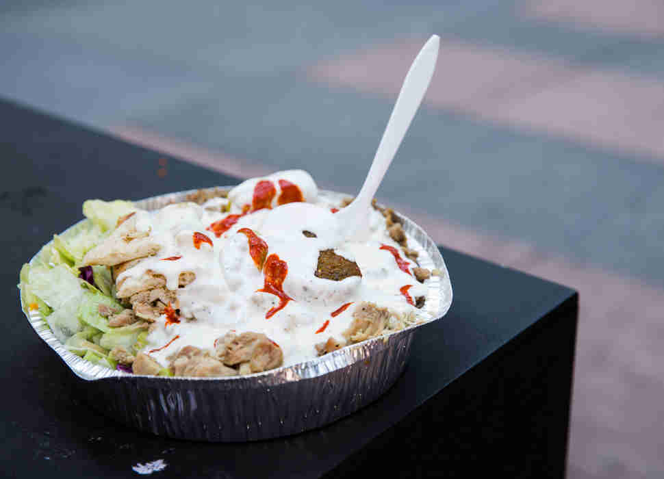 chicken and rice halal guys