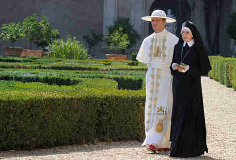 the young pope hbo jude law diane keaton 2017 tv preview