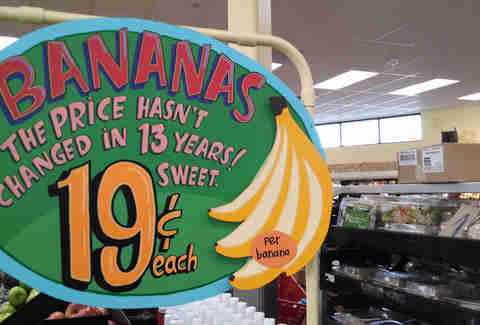 Trader Joe's bananas