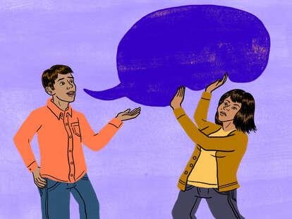 Voice bubble