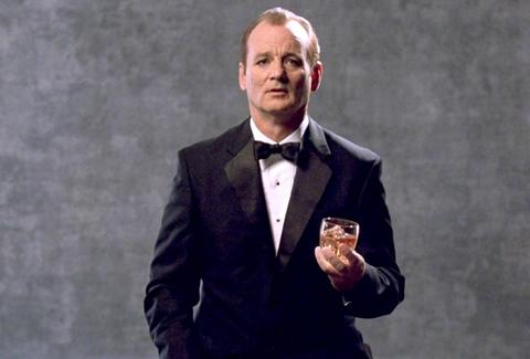 Bill Murray Champagne