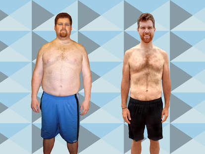 Man loses over 100lbs through dieting