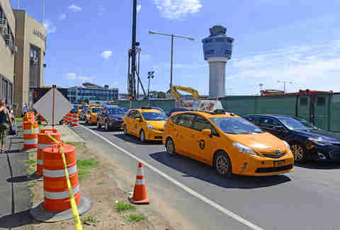 LaGuardia construction