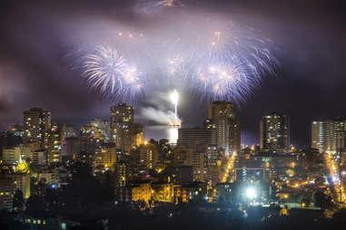 Valparasio Chile New Years