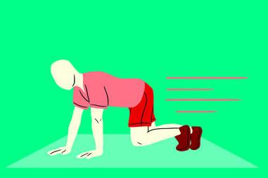 bear crawls exercises